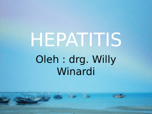 Oleh : drg. Willy Winardi