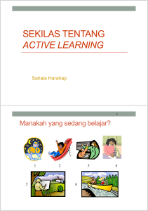 160320 Sesi Active Learning - Kemdikbud - e