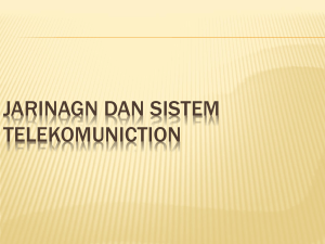 JARINAGN DAN SISTEM TELEKOMUNICTION