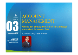 account management - Universitas Mercu Buana