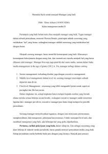 Resume chapter 2 media management - E
