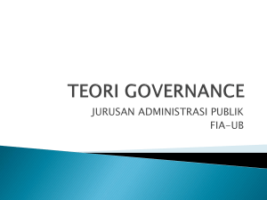 teori governance new
