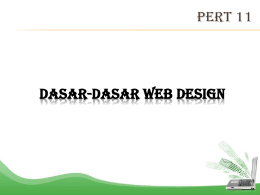 Dasar-dasar website