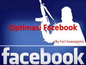 Optimasi Facebook