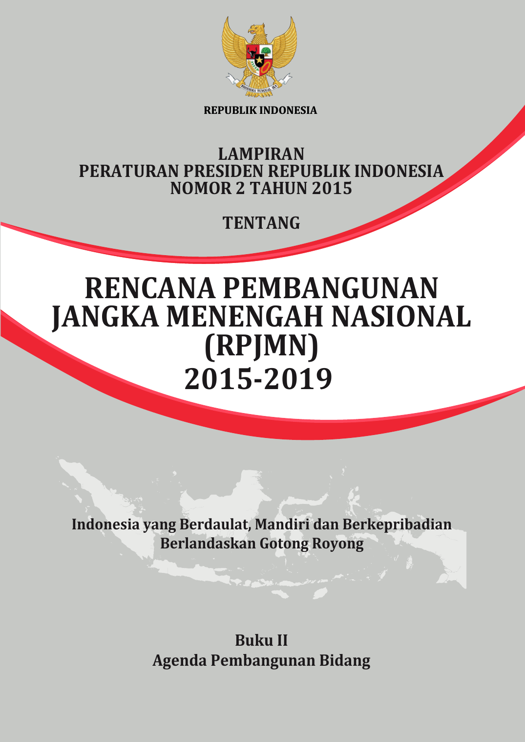 Rpjmn 2015 2019 Direktorat Tata Ruang Dan Pertanahan