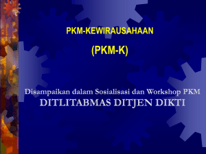 pkm-k - E-learning Amikom