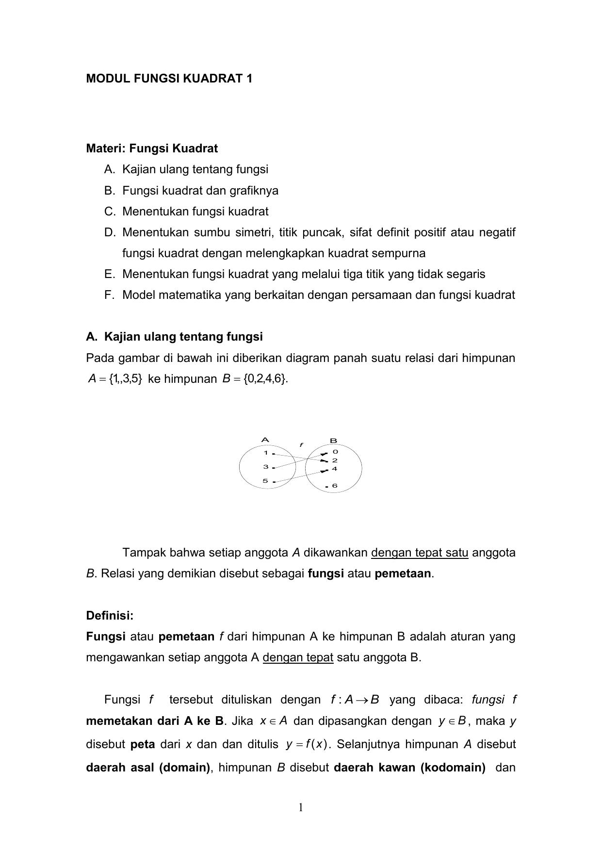 Modul fungsi kuadrat 1 0005011941 421068412eb6118a5c19dee8c90b8717g ccuart Images