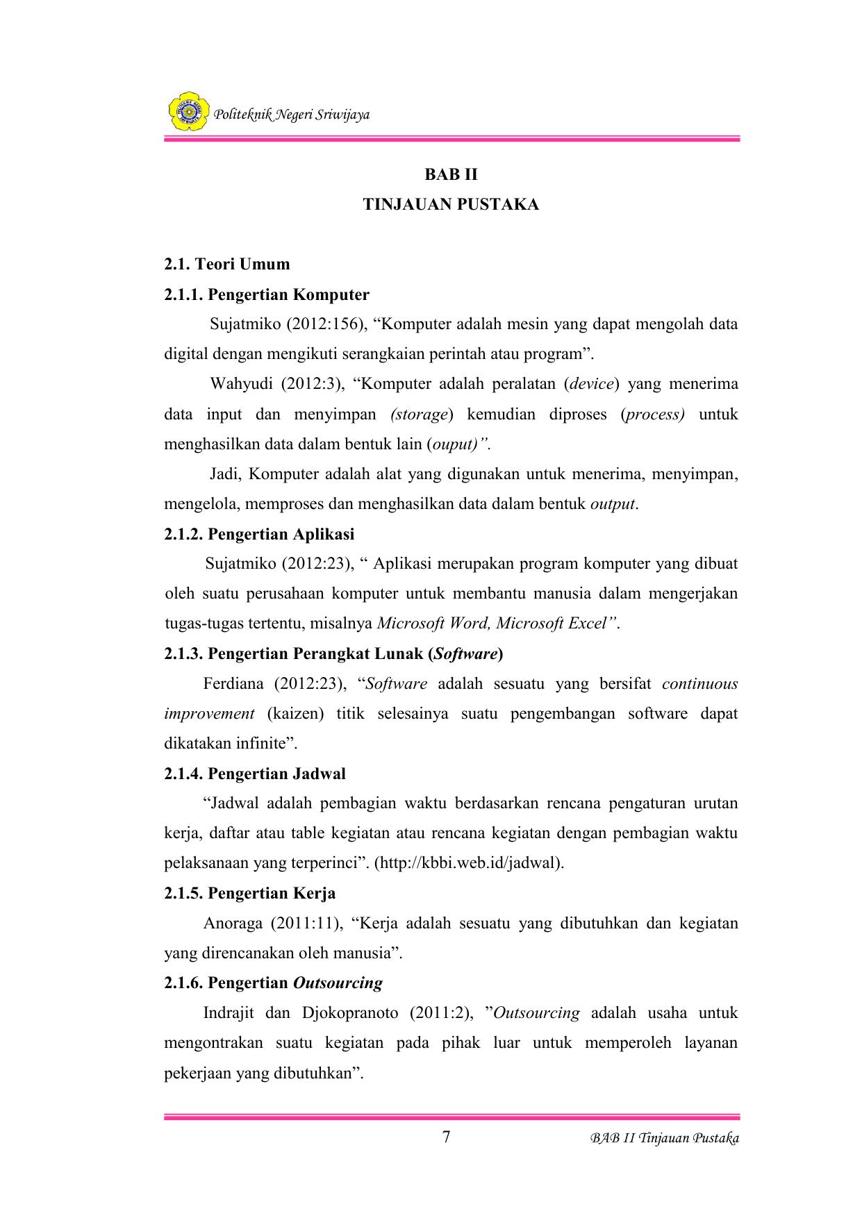 7 bab ii tinjauan pustaka 21 teori umum 211 pengertian ccuart Image collections