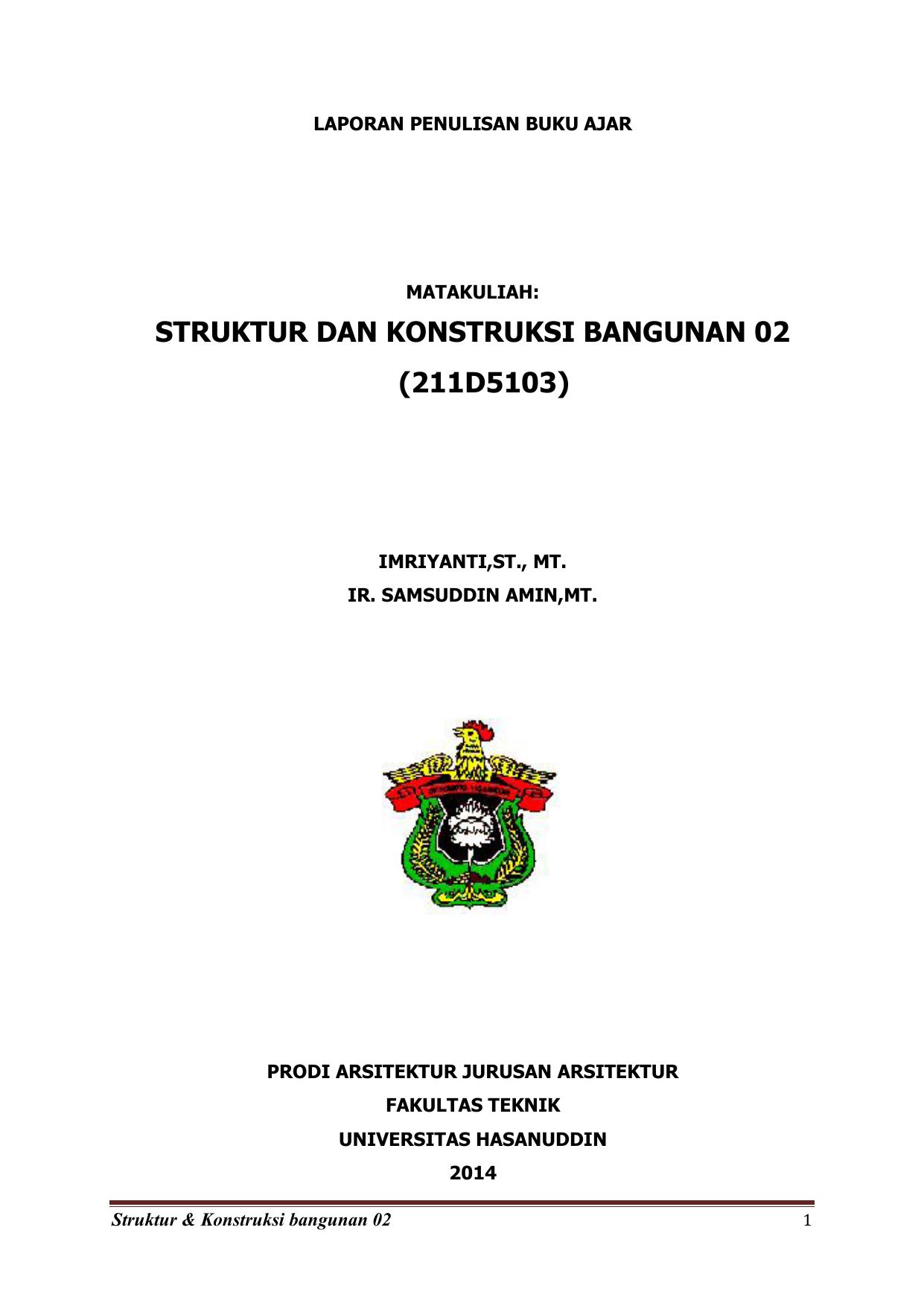 Struktur Dan Konstruksi Bangunan 02 211d5103