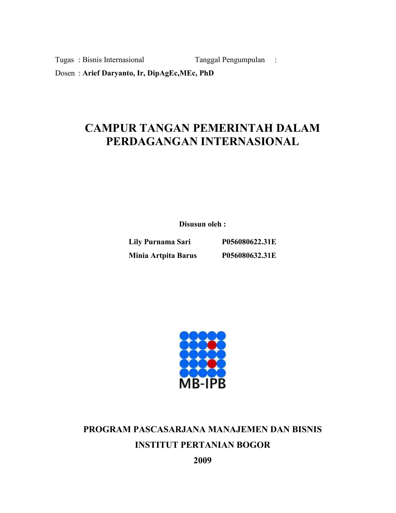 sistem klasifikasi perdagangan harmonisasi indonesia