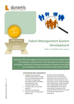 talent management literatur