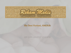 Rekam Medis - WordPress.com