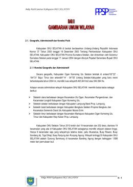 Pembangunan Pasar Rakyat Kabupaten Oku Timur