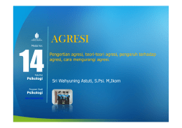 agresi - Universitas Mercu Buana