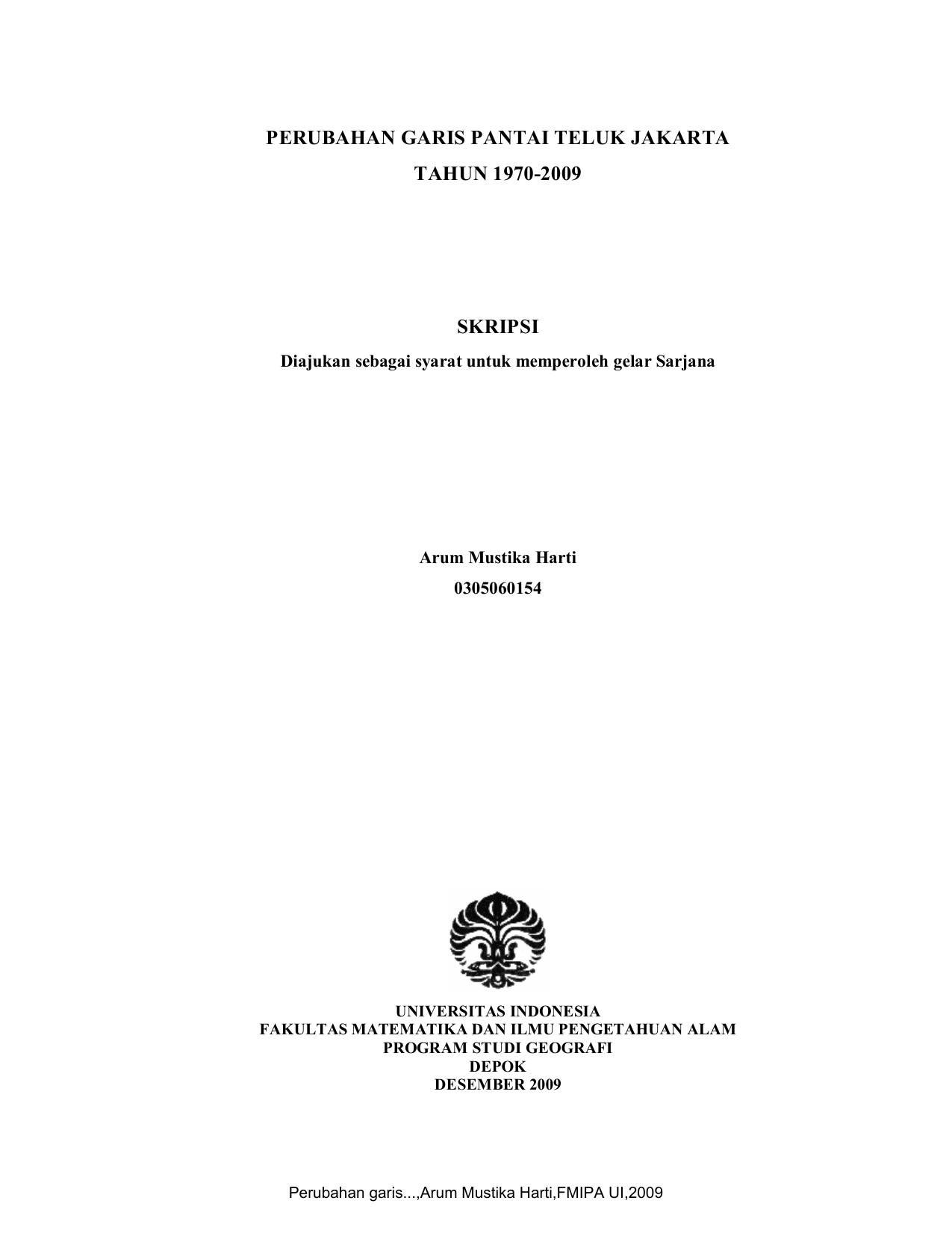 062 09 Perubahan Garis Perpustakaan Universitas Indonesia