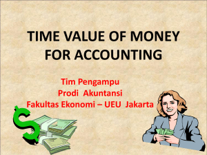 time value of money - Digilib Esa Unggul