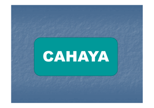 Cahaya [Compatibility Mode]