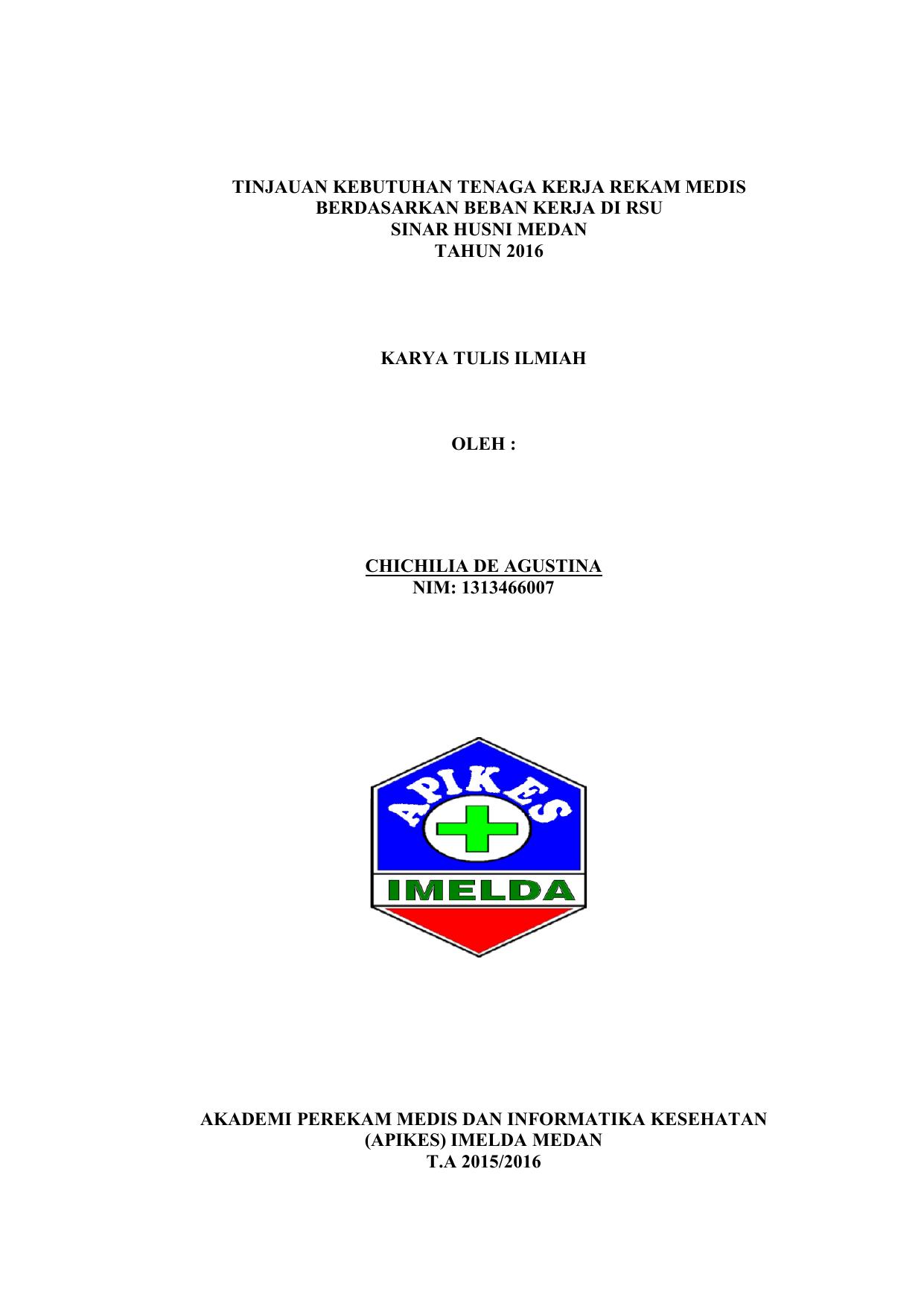 File Apikes Imelda Medan