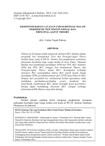 eJournal Administrative Reform, 2014, 2 (4): 2422