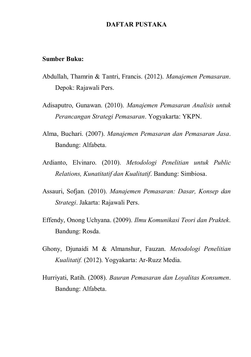 Daftar Pustaka Sumber Buku Open Library Telkom University