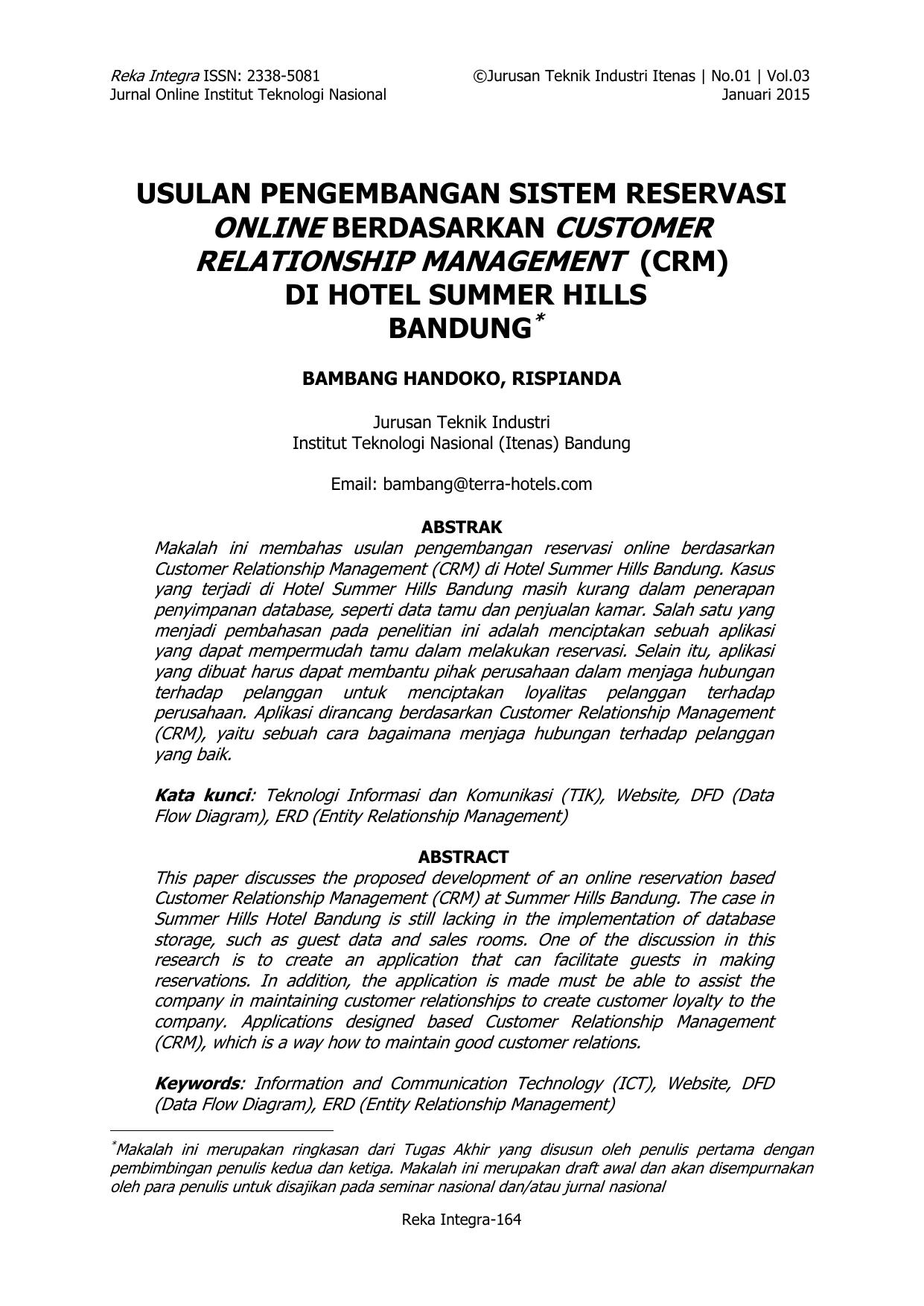Relationship Management Crm