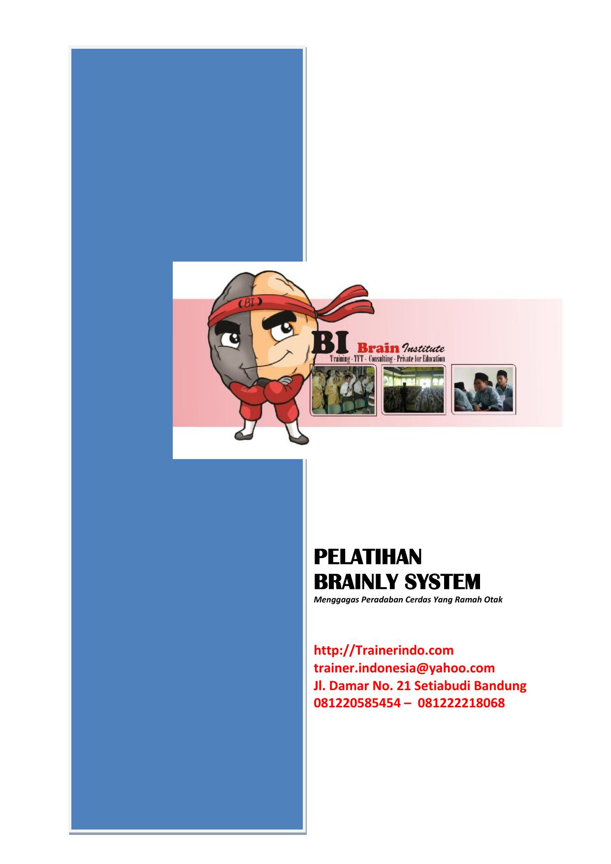 Pelatihan Brainly System
