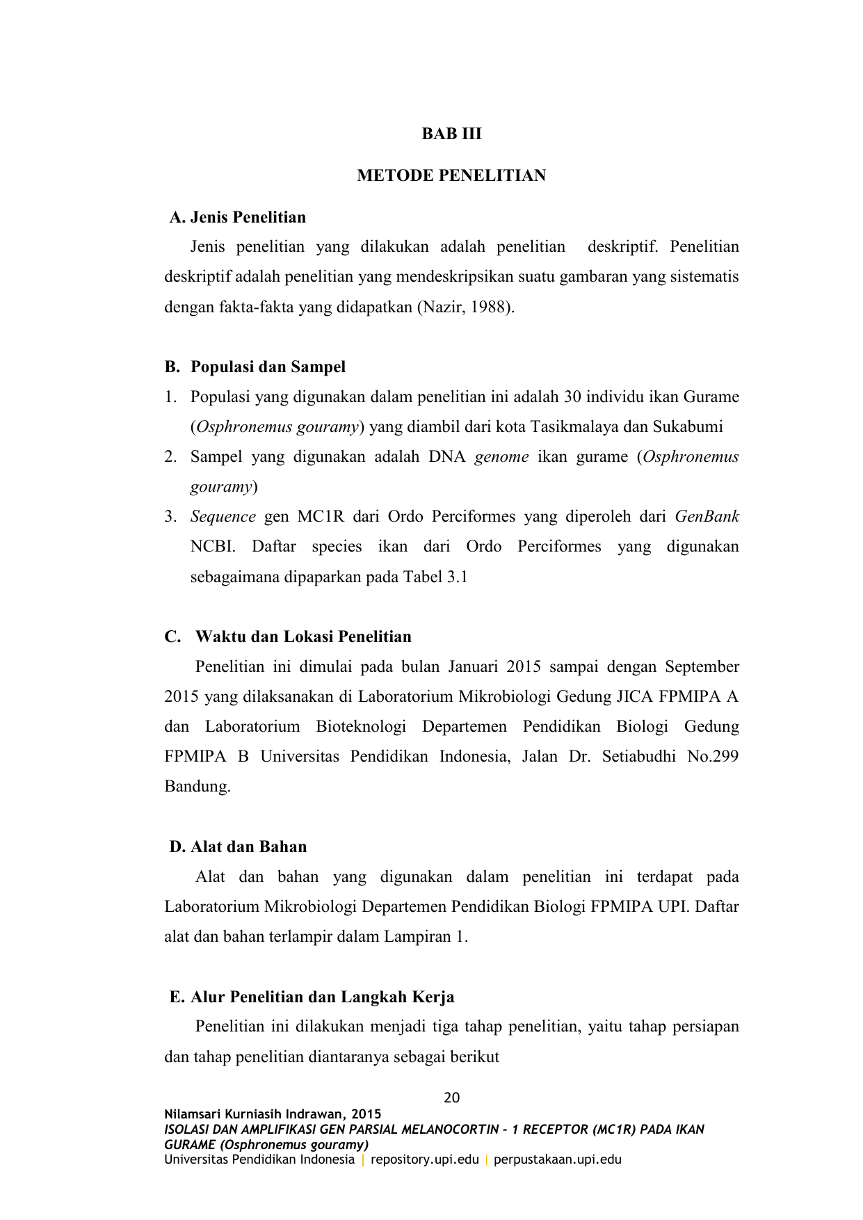 Bab iii metode penelitian a jenis penelitian ccuart Images