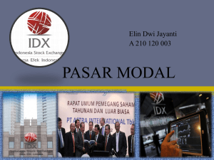 pasar modal - WordPress.com