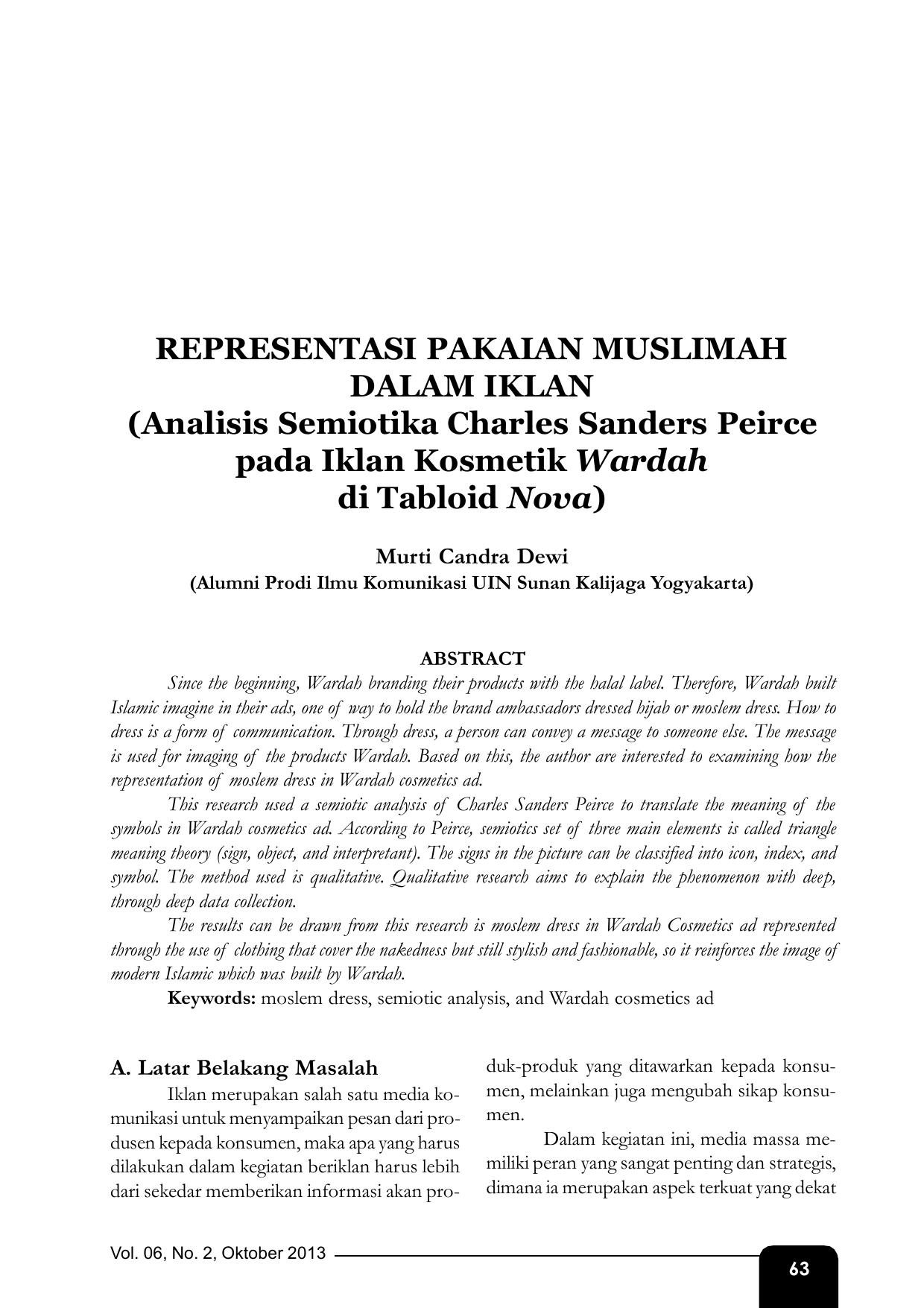 PENDEKATAN SEMIOTIK PDF DOWNLOAD