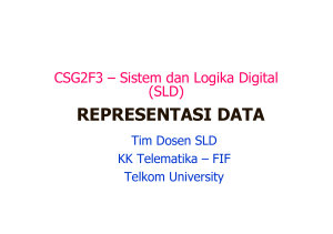 representasi data - Telkom University