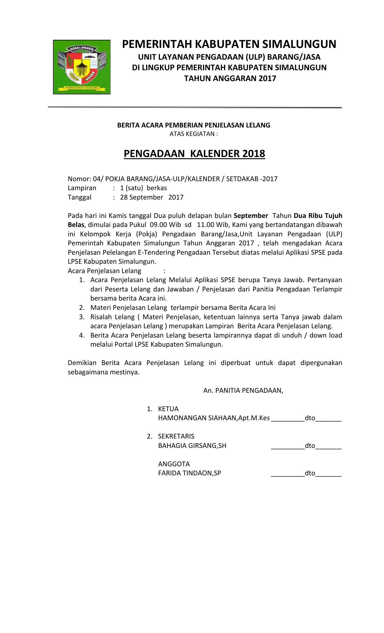 Pemerintah Kabupaten Simalungun