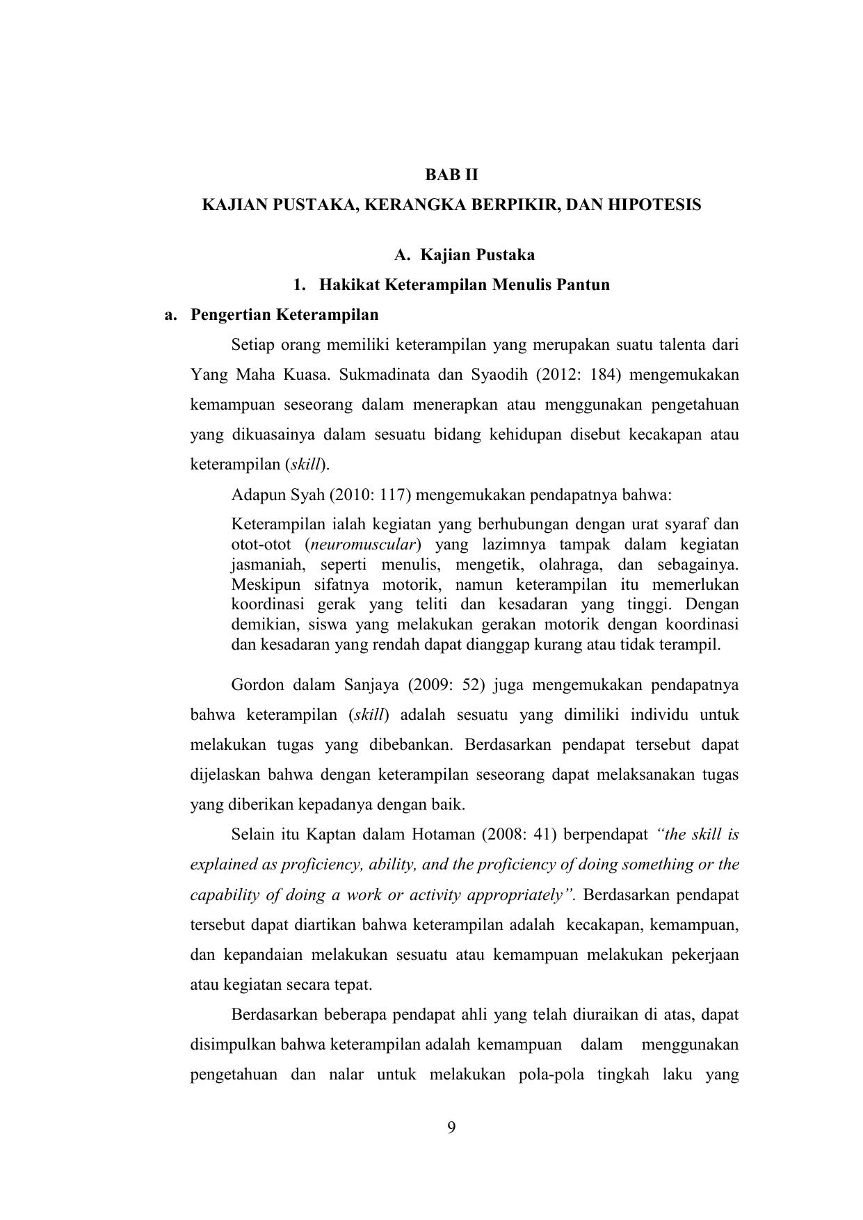 Silabus Bahasa Indonesia Kelas 1 Sd Semester 2