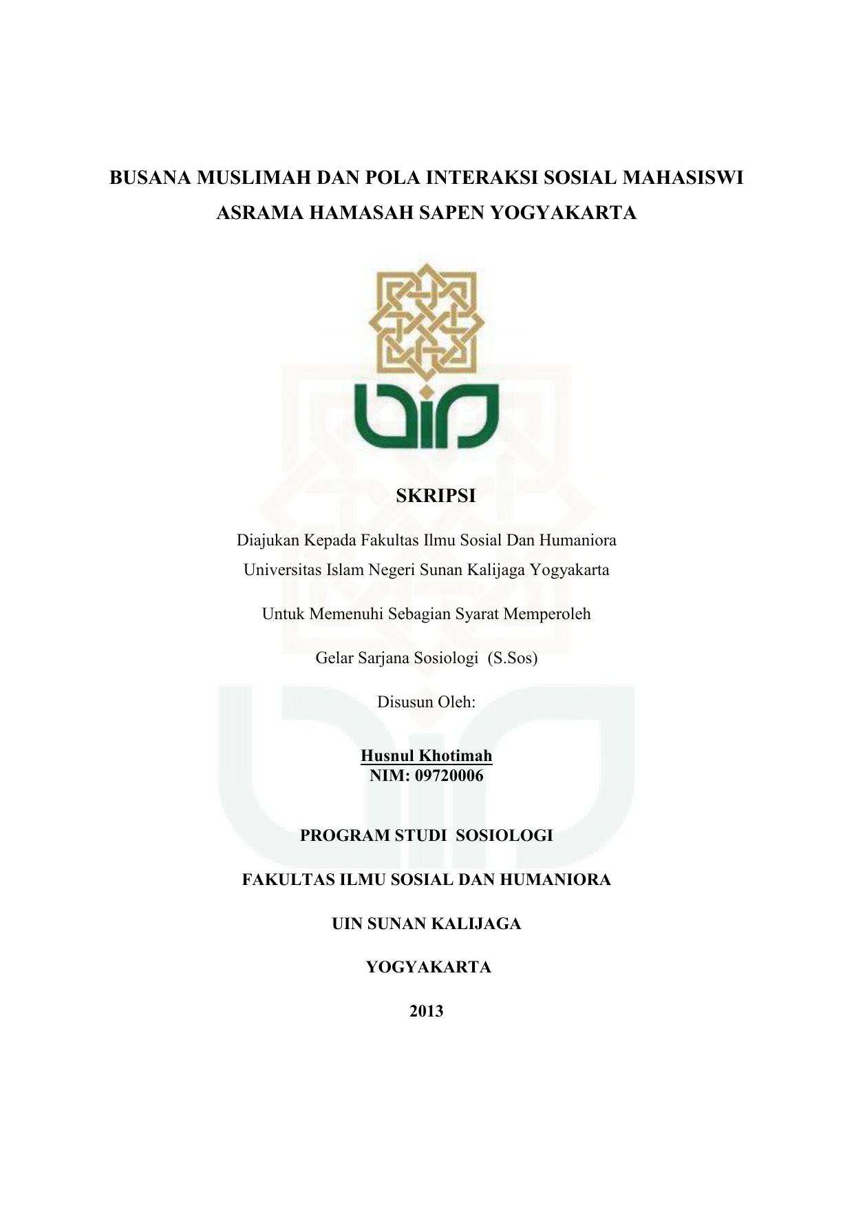 Cover Skripsi Digital Library Uin Sunan Kalijaga