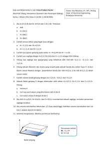 Cross Product Vector