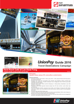 Guide 2016 - Bank Sinarmas