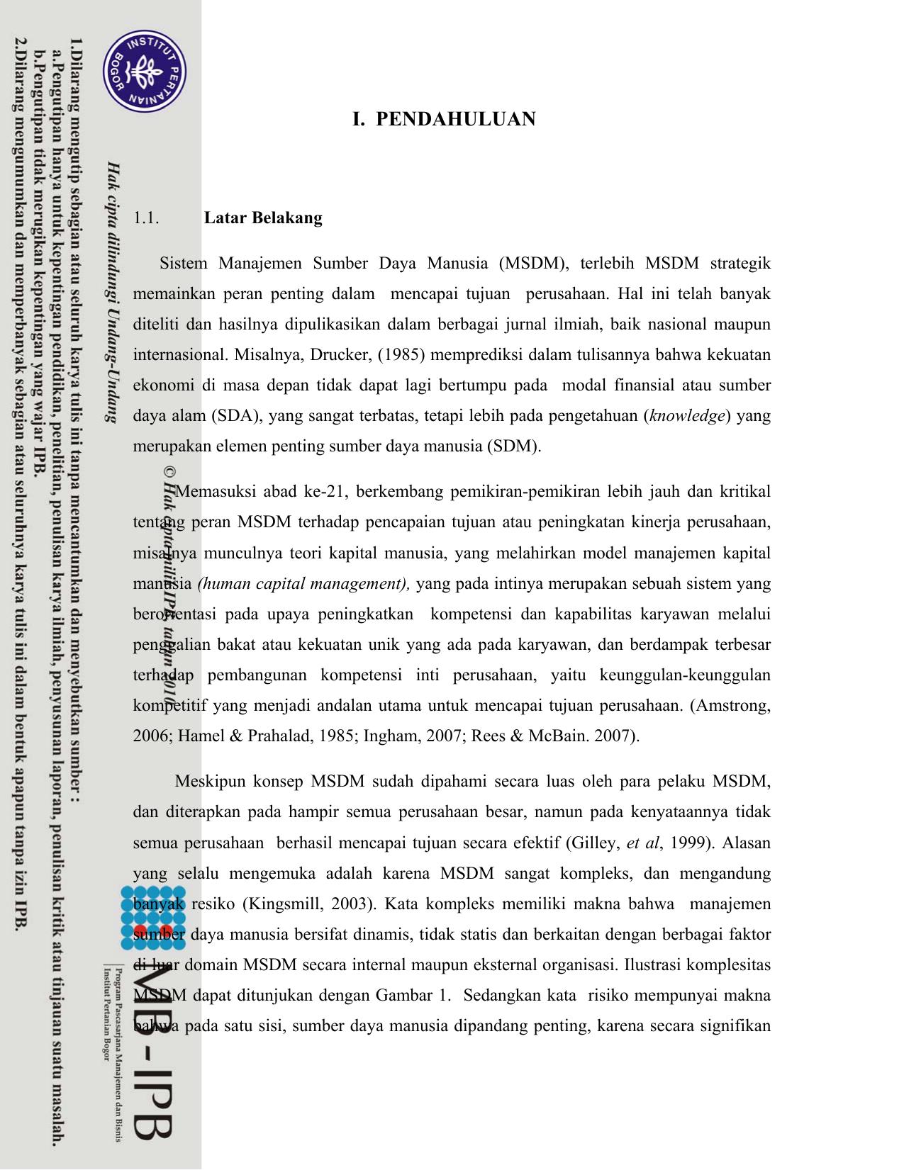 Jurnal Internasional Tentang Manajemen Sumber Daya Manusia لم يسبق