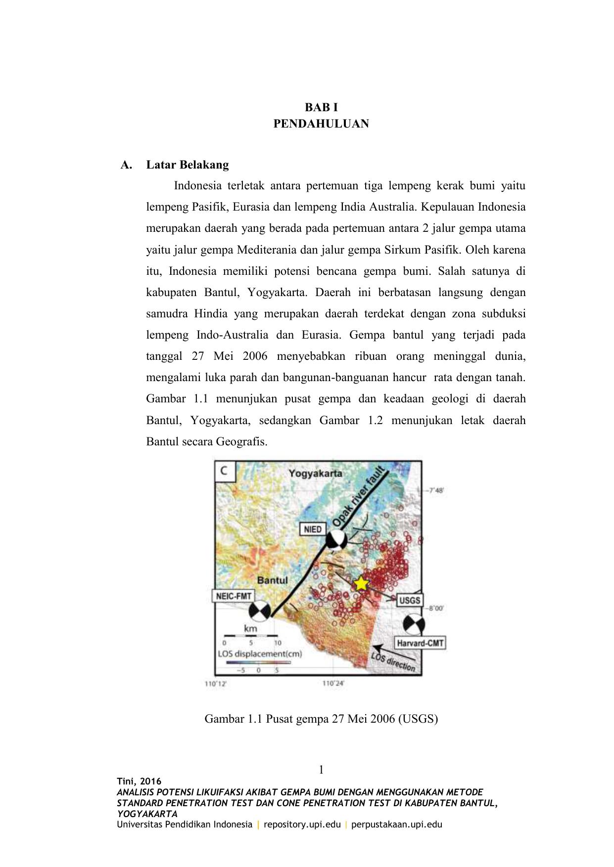 Contoh Proposal Penelitian Geografi Tentang Gempa Bumi Berbagi Contoh Proposal