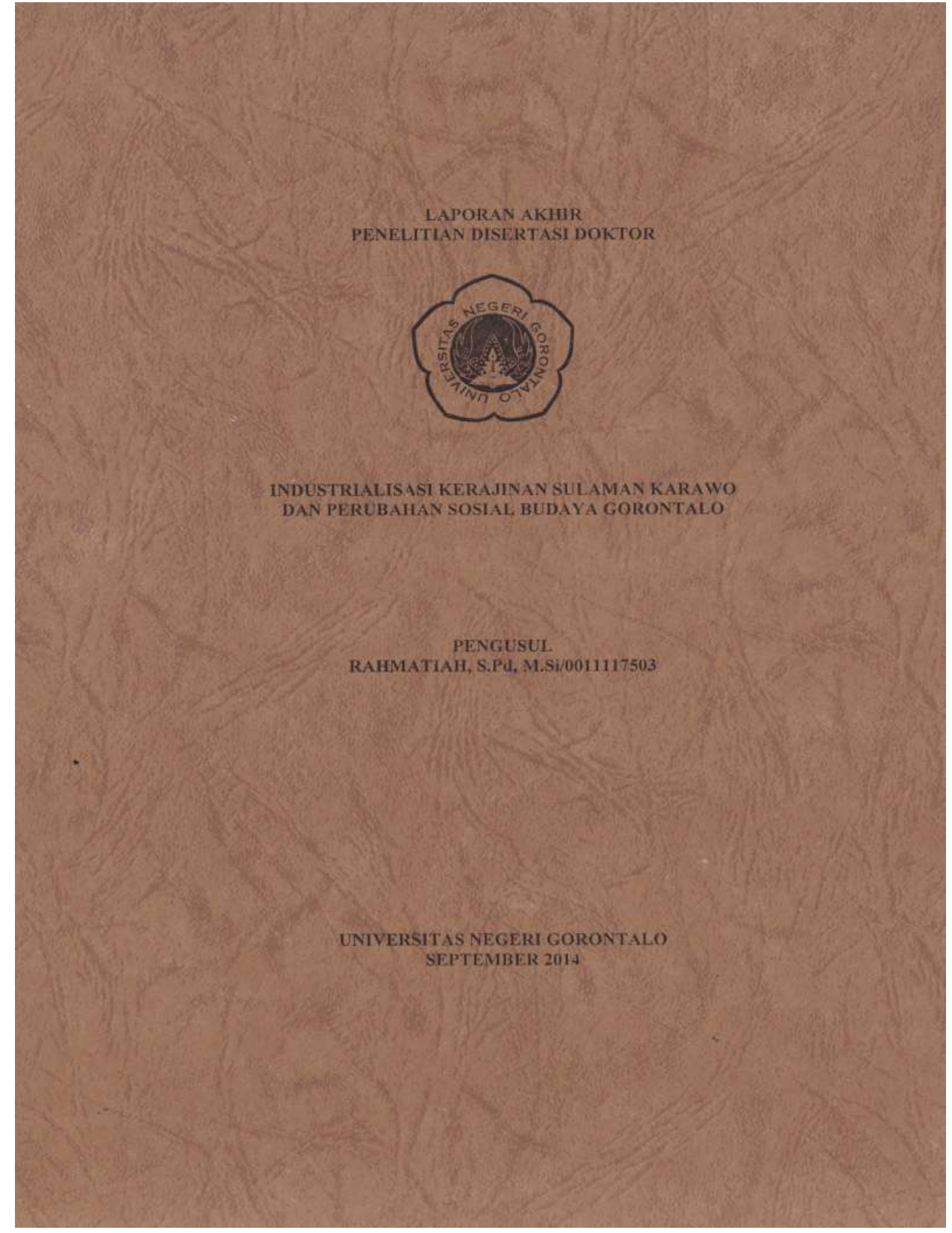 Repository UNG Universitas Negeri Gorontalo