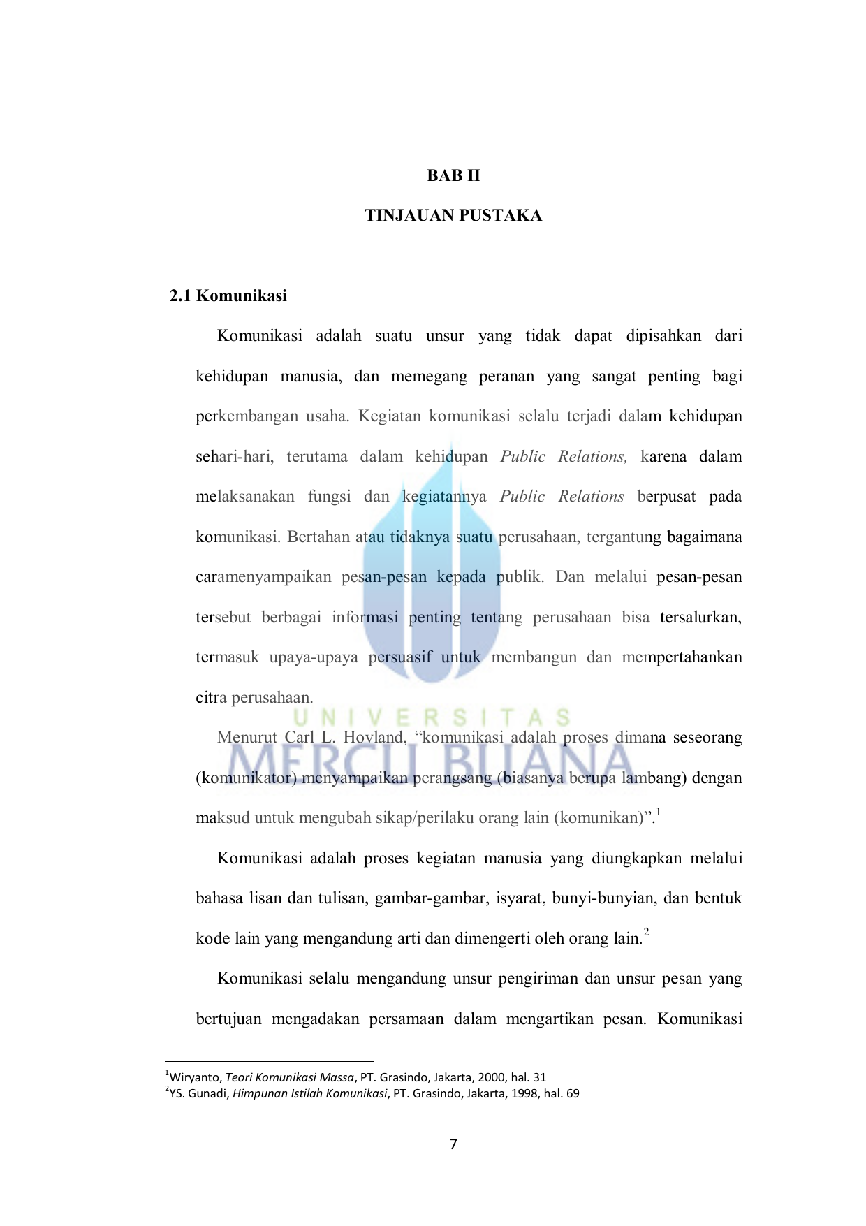 Bab ii tinjauan pustaka 21 komunikasi komunikasi adalah ccuart Choice Image