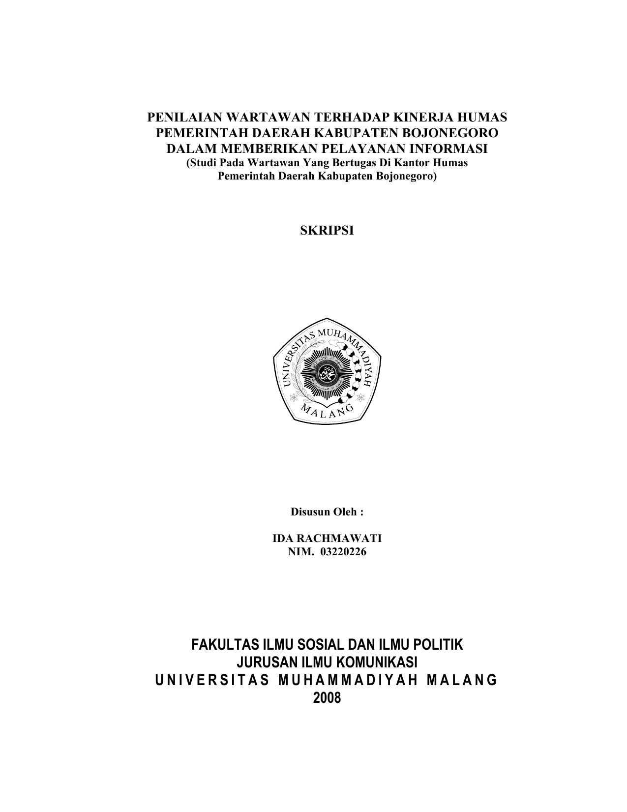 Contoh Skripsi Ilmu Komunikasi Contoh Soal Dan