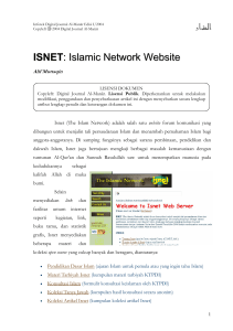 ISNET : Islamic Network Website