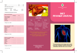 Kumpulan Brosur Diet