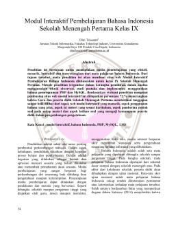 Perancangan dan implementasi sistem informasi inventaris modul interaktif pembelajaran bahasa indonesia sekolah ccuart Image collections