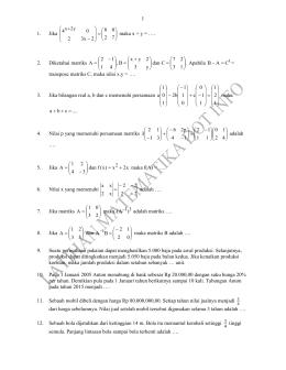 Penyajian data dalam bentuk diagram latihan ujian nasional latihan matematika dan pembahasan ccuart Gallery