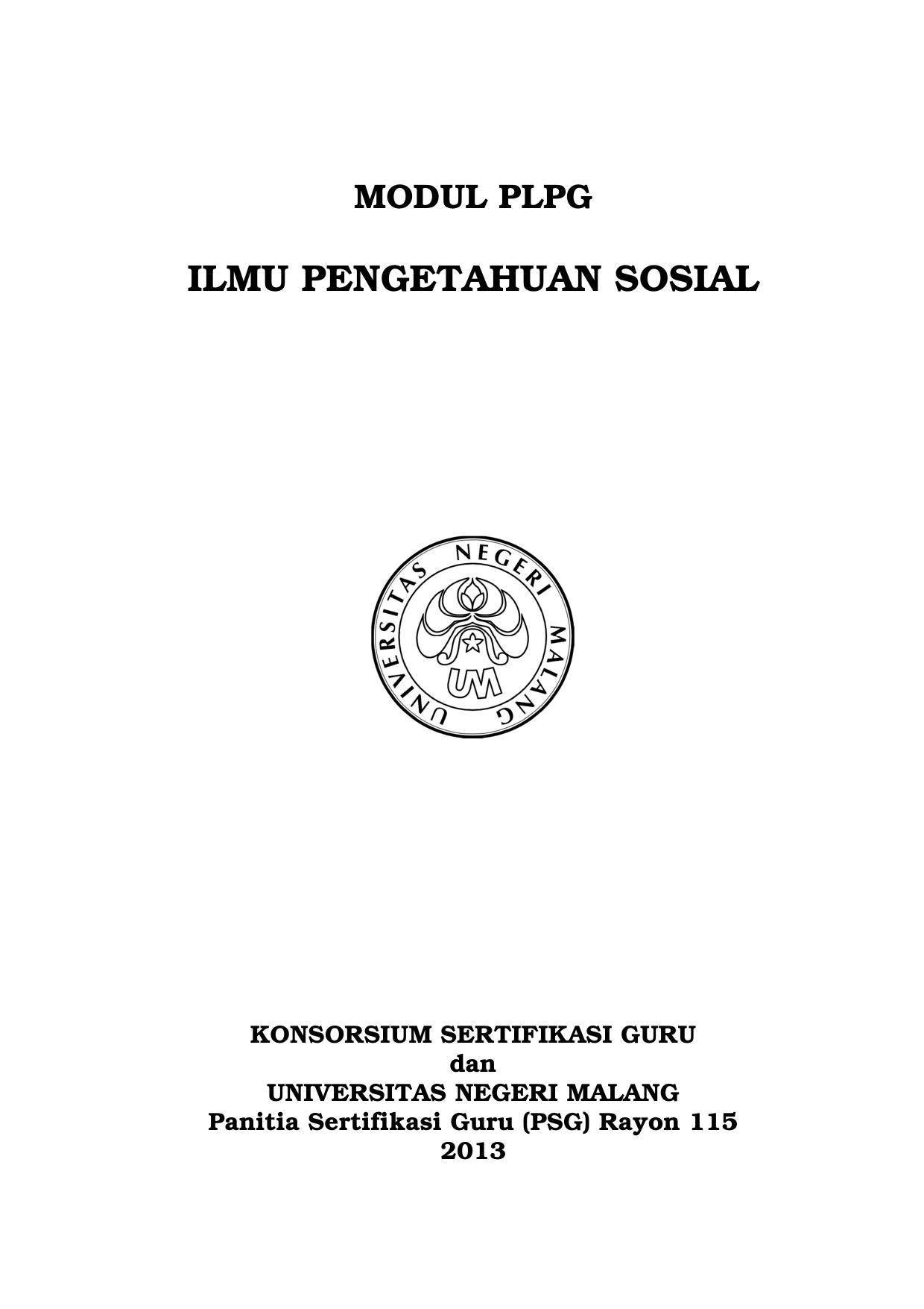 IPS Panitia Sertifikasi Guru Rayon 115
