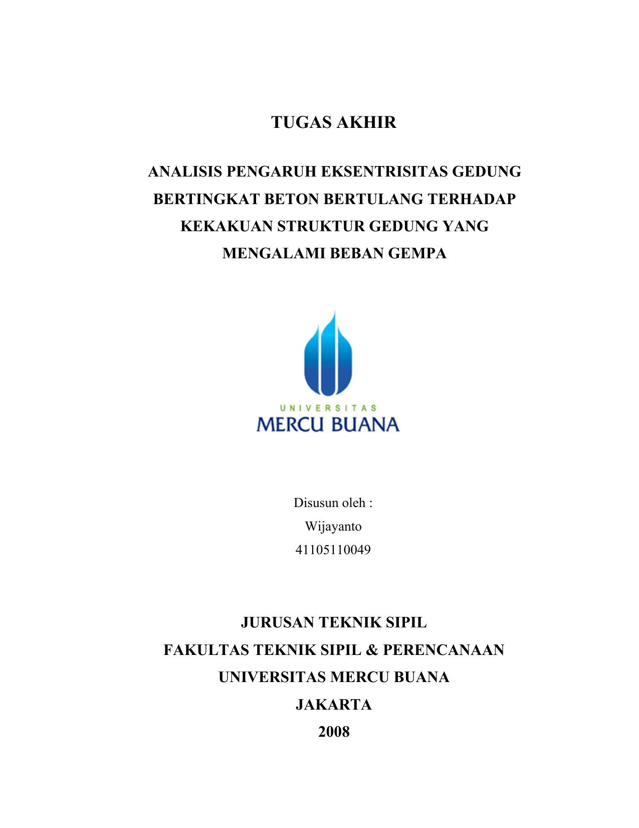 Gudang Segala Skripsi Terbaik Dan Terlengkap Se-Indoneia Raya