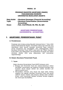 Modul-10-Akuntansi Pemerintahan (Govermental Accounting)