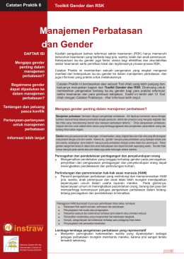 Practice Note 6 - Border Management and Gender