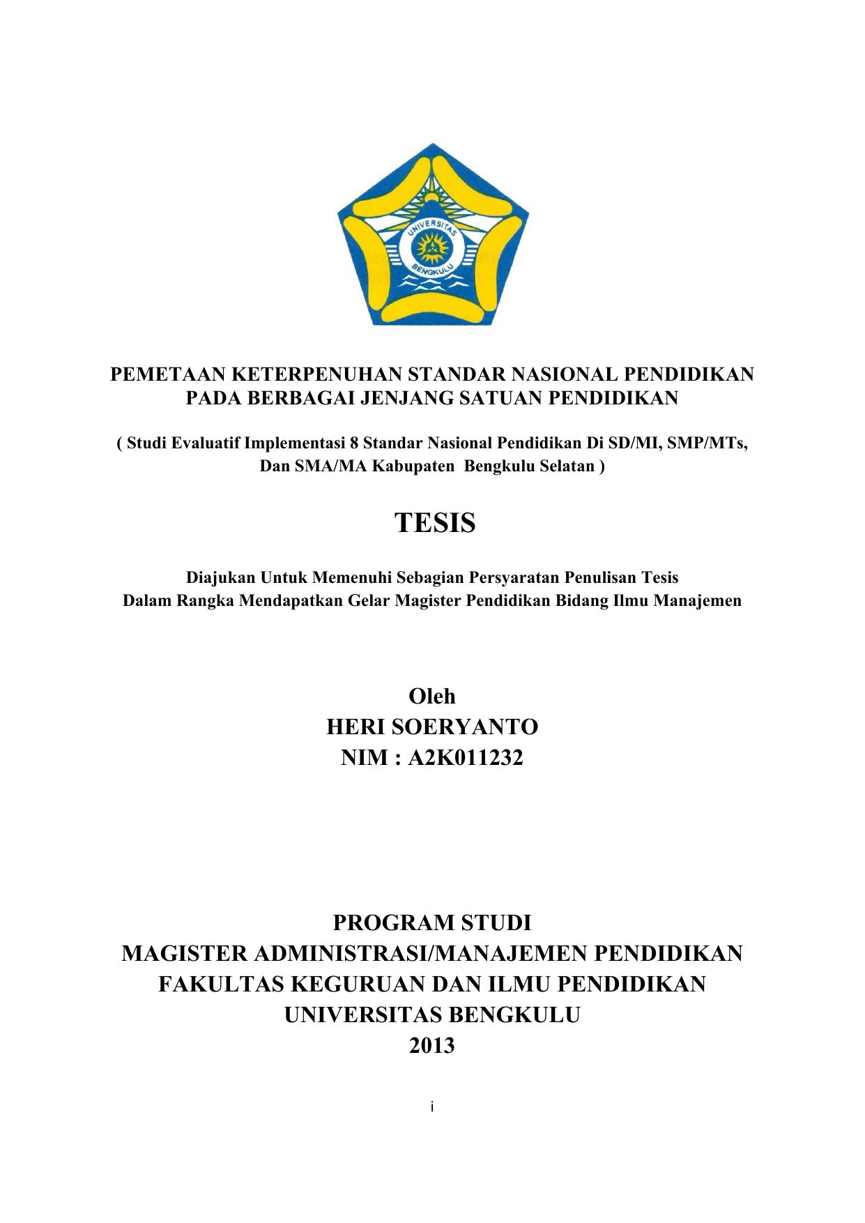 Contoh Proposal Tesis Magister Administrasi Publik Berbagi Contoh Proposal