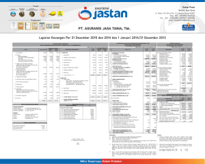 Lap keu Jastan 2015 FINAL - jastan.co.id